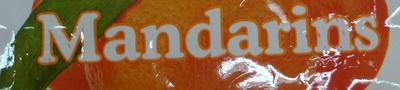 Mandarins - Ingredients
