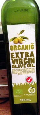 Extra Virgin Olive Oil - Just Organic - Product