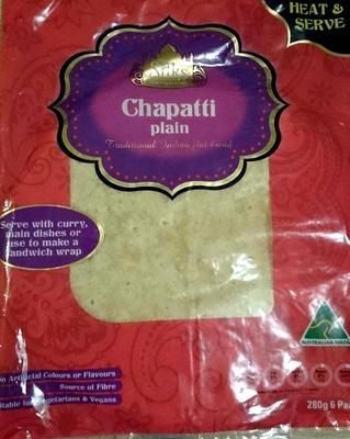 Chapatti Plain 6 Pack - Product