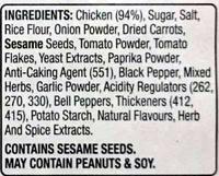 Chicken Thigh Steaks - Ingredients