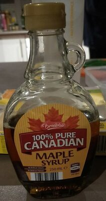 100% pure Canadian Marple syrup - Product - en