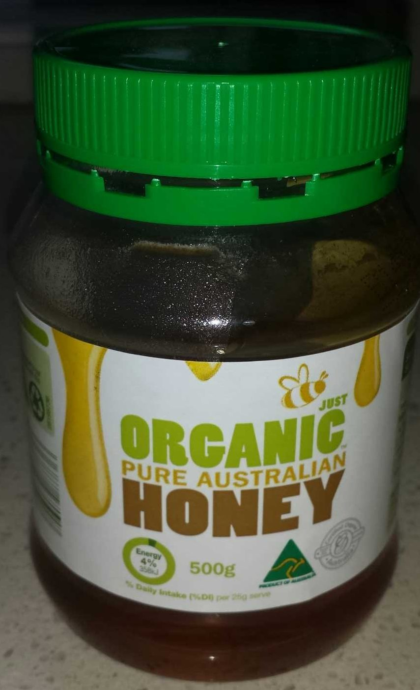 Honey - Just Organic - 500g