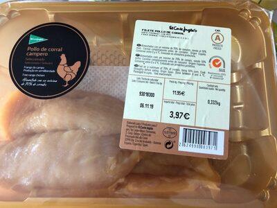 Filete pollo corral - Produit - es