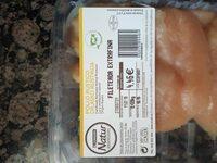 Pechuga fileteada extrafina - Información nutricional - es