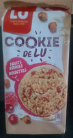 Cookie de Lu Fruits rouges noisettes - Product