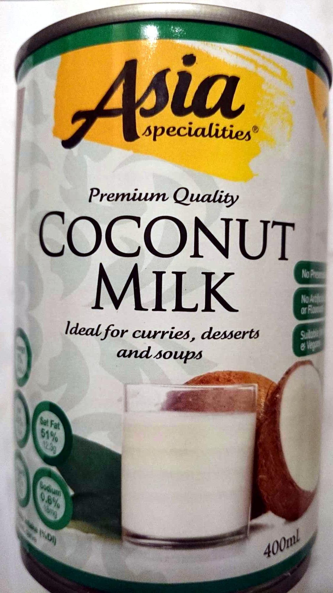 Premium Quality Coconut Milk - Product