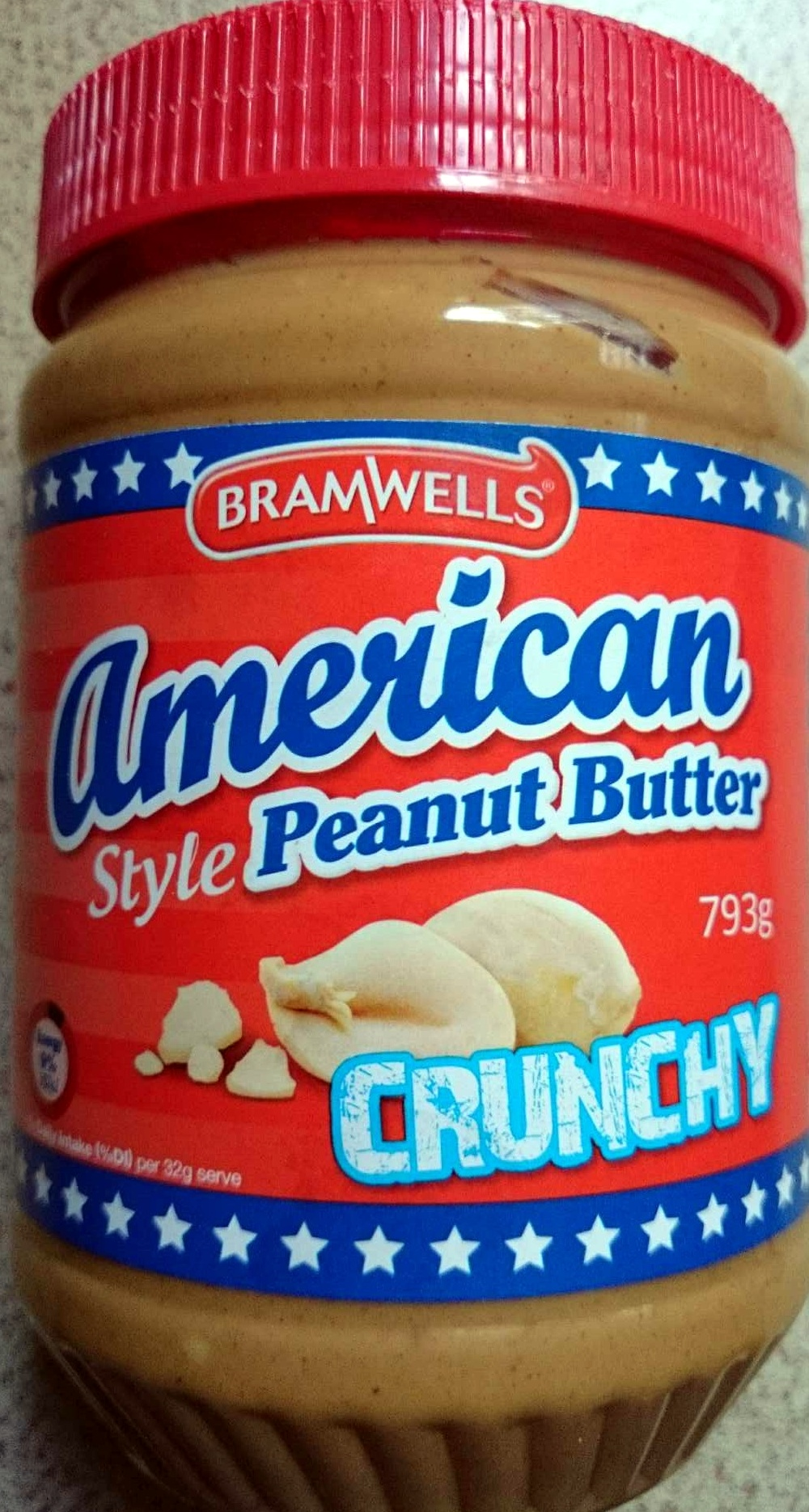 American Style Peanut Butter Crunchy - Product - en