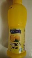 Lemon Juice - Product