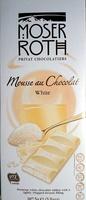 Mousse au Chocolat White - Product - en
