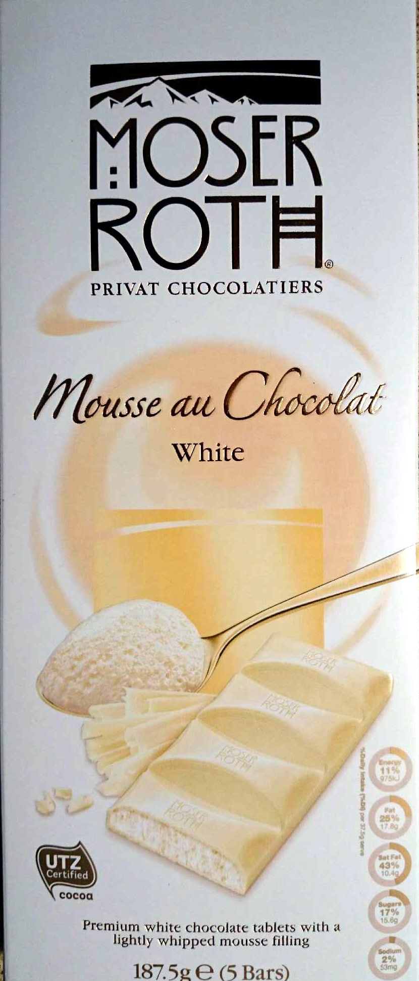 Mousse au Chocolat White - Produit - en