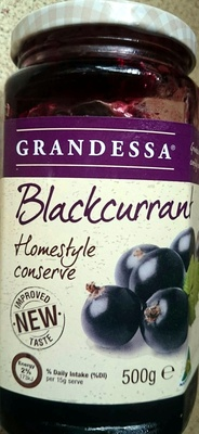 Blackcurrant Homestyle Conserve - Product