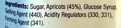Apricot Homestyle Conserve - Ingredients - en