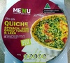 Homestyle Quiche - Spinach, Semi Dried Tomato & Leek - Product