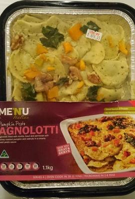 Pumpkin Pesto Agnolotti - Product - en