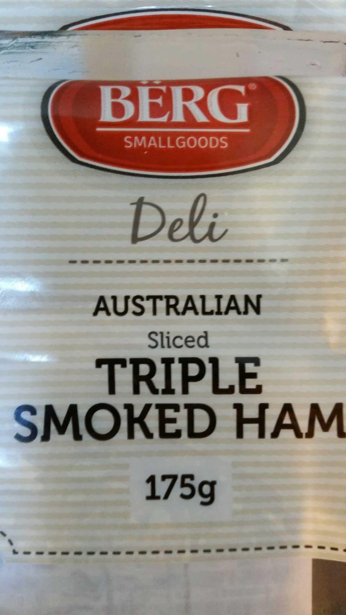 Triple Smoked Ham - Produit