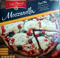Mozarella Super Thin Stone Baked Pizza - Product