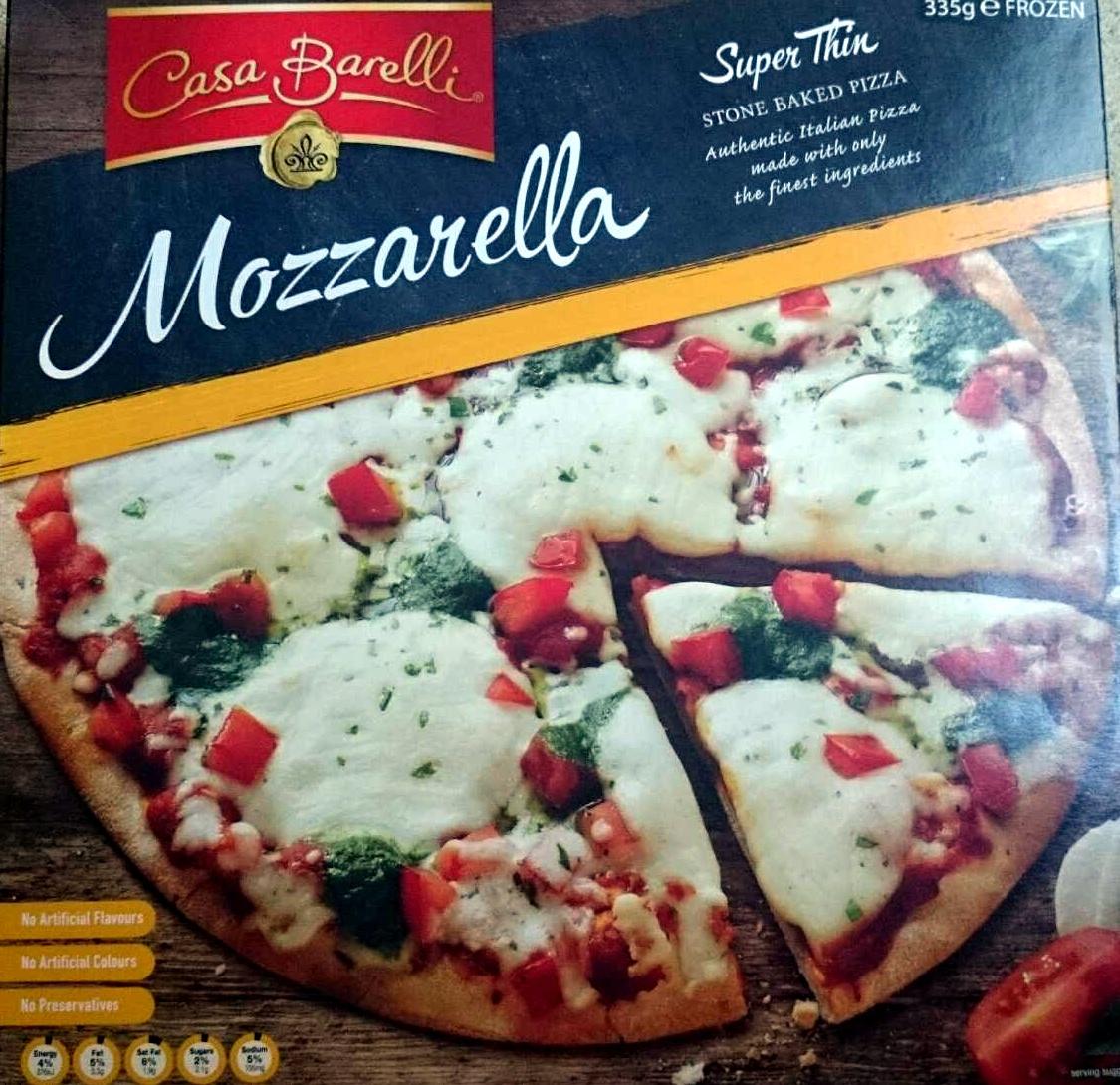 Mozarella Super Thin Stone Baked Pizza - Product - en