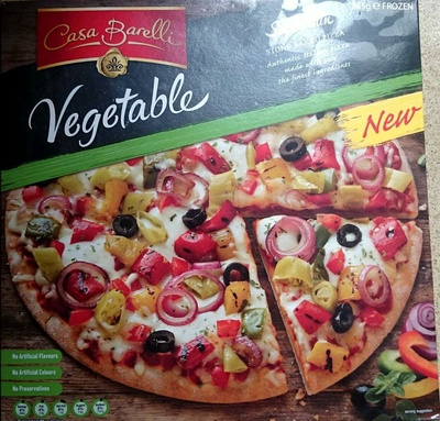 Vegetable Pizza - Product