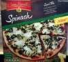 Spinach Super Thin Stone Baked Pizza - Product