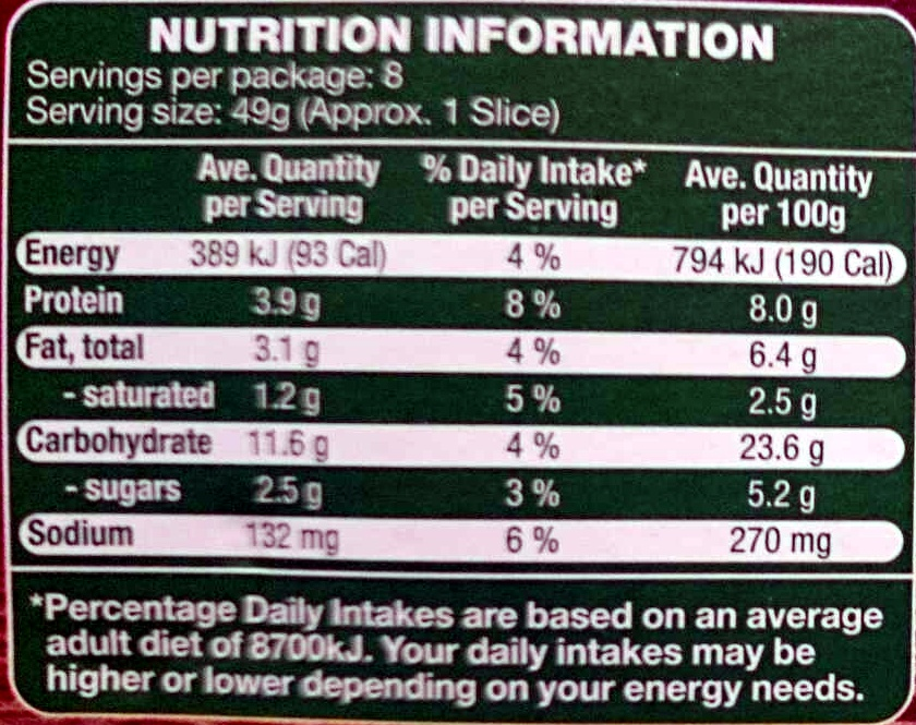 Spinach Super Thin Stone Baked Pizza - Nutrition facts - en