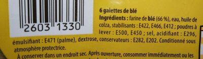 6 wraps à garnir - Ingredients - fr