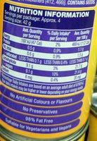 Passionfriuit Pulp - Nutrition facts - en