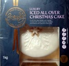 Luxury Iced All Over Christmas Cake - Produit