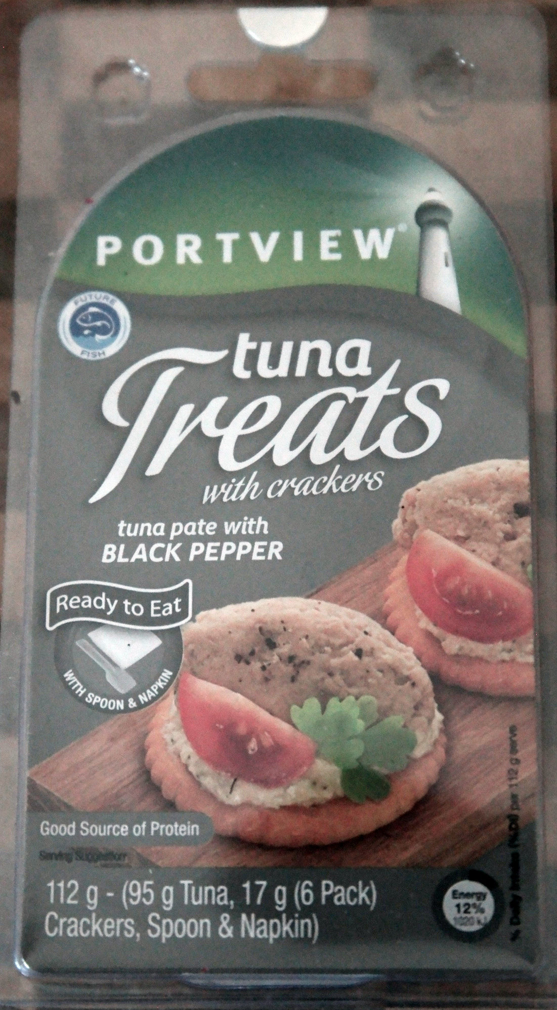 Tuna Treats with Crackers - Product