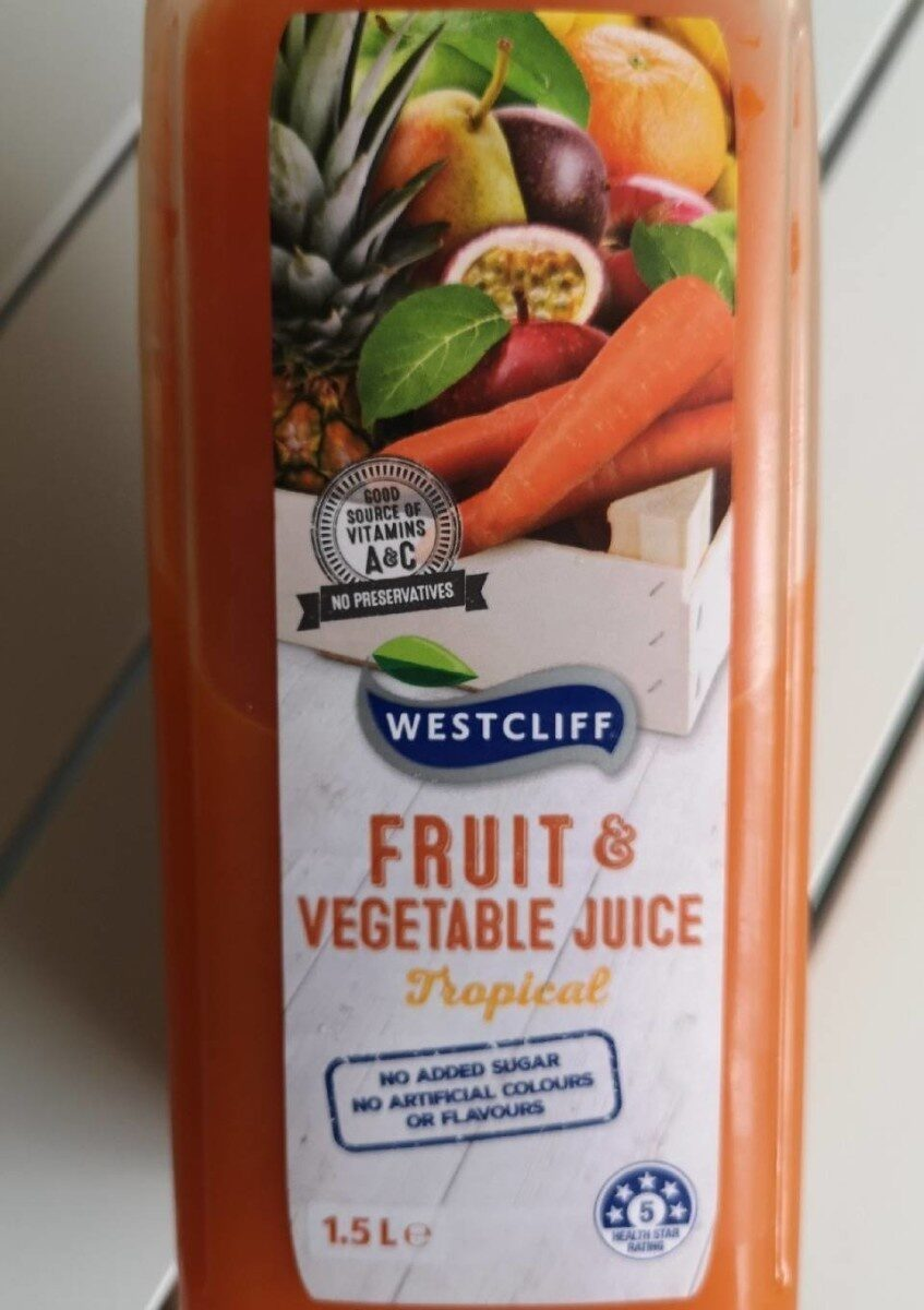 Fruit & Vegetable Juice - Product
