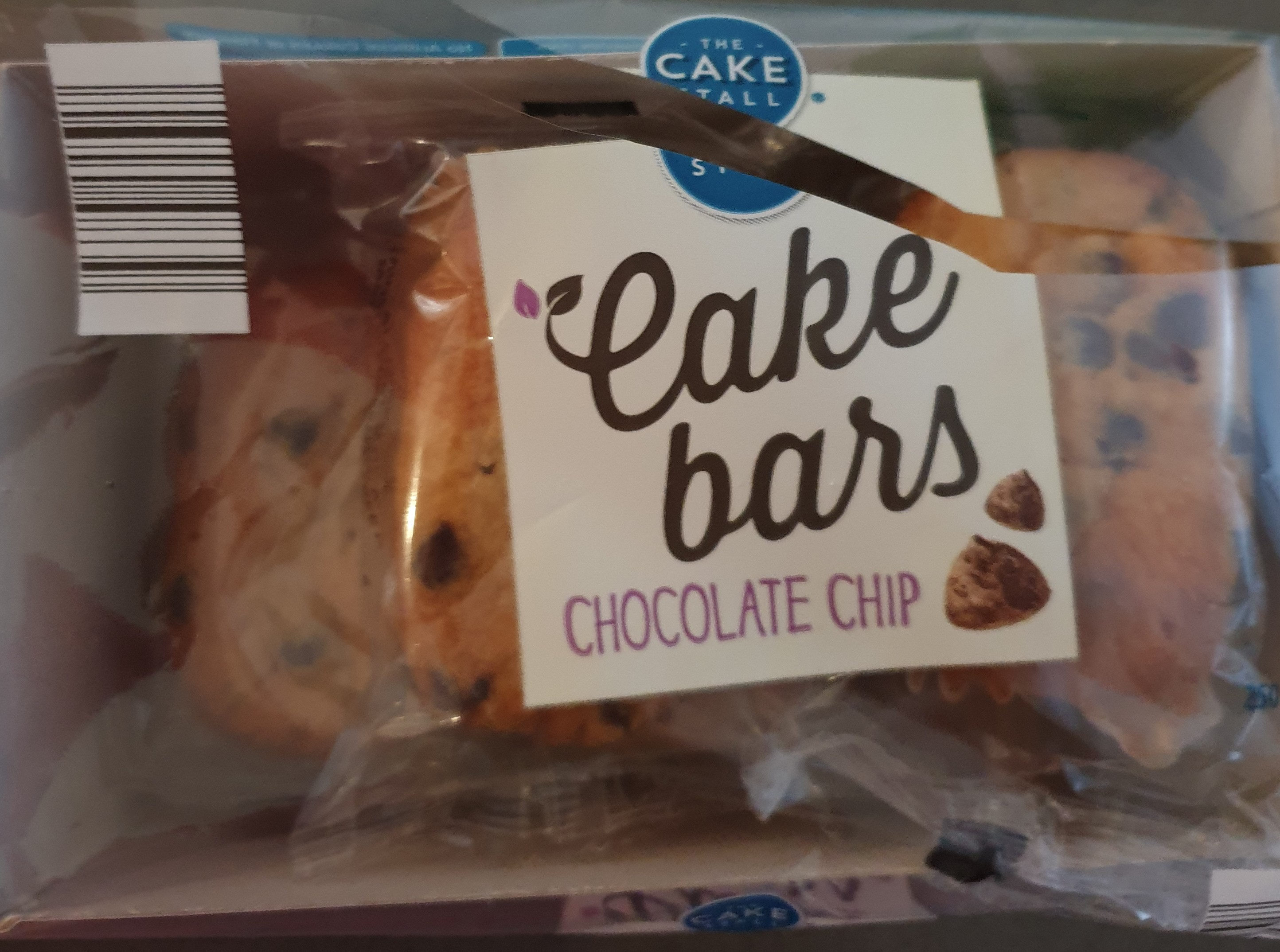 cake bars chocolate chip - Product - en