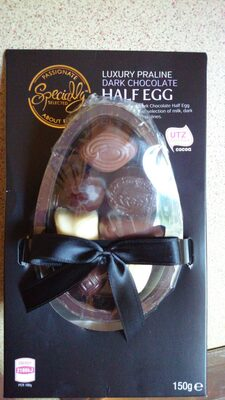 Dark Chocolate Half Egg - Product