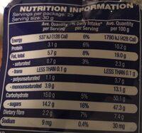 Fruit & Nut Mix - Nutrition facts - en