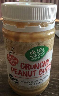 Crunchy peanut butter - Prodotto - fr