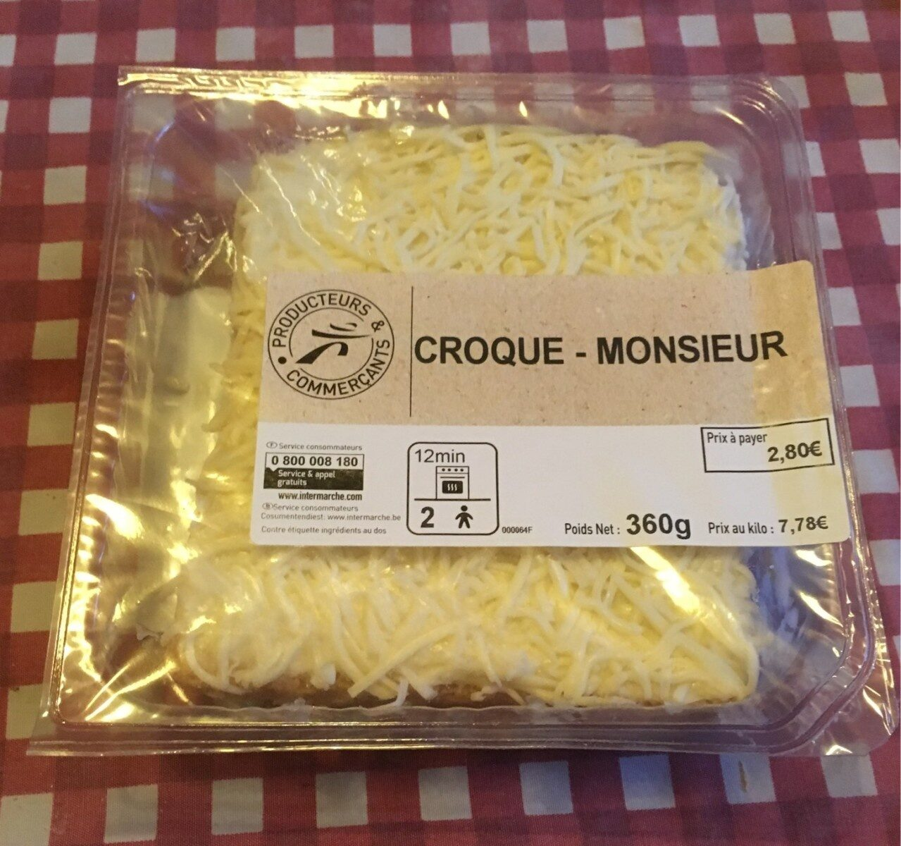 Croque-Monsieur - Product - fr