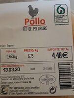 Pechuga de pollo - Producto - es