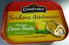 Sardines généreuses, marinade citron-basilic, sans huile - Produit