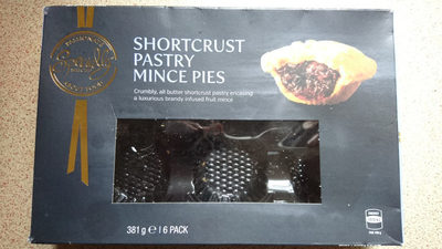 Shortcrust Pastry Mince Pies - Product