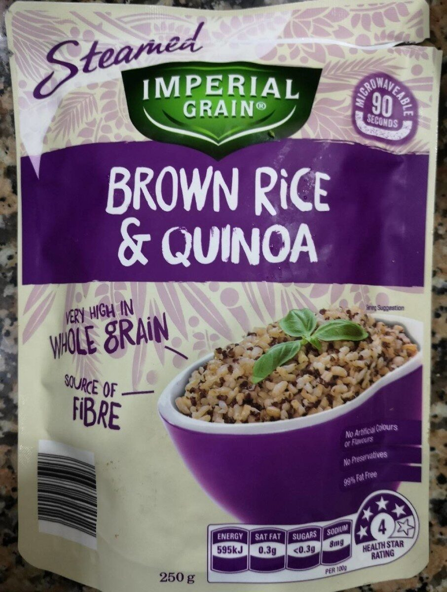 Brown Rice & Quinoa - Product