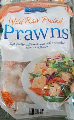 Wild Raw Peeled Prawns - Product