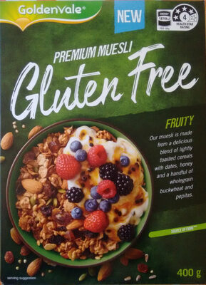 Fruity Gluten Free Muesli - Product