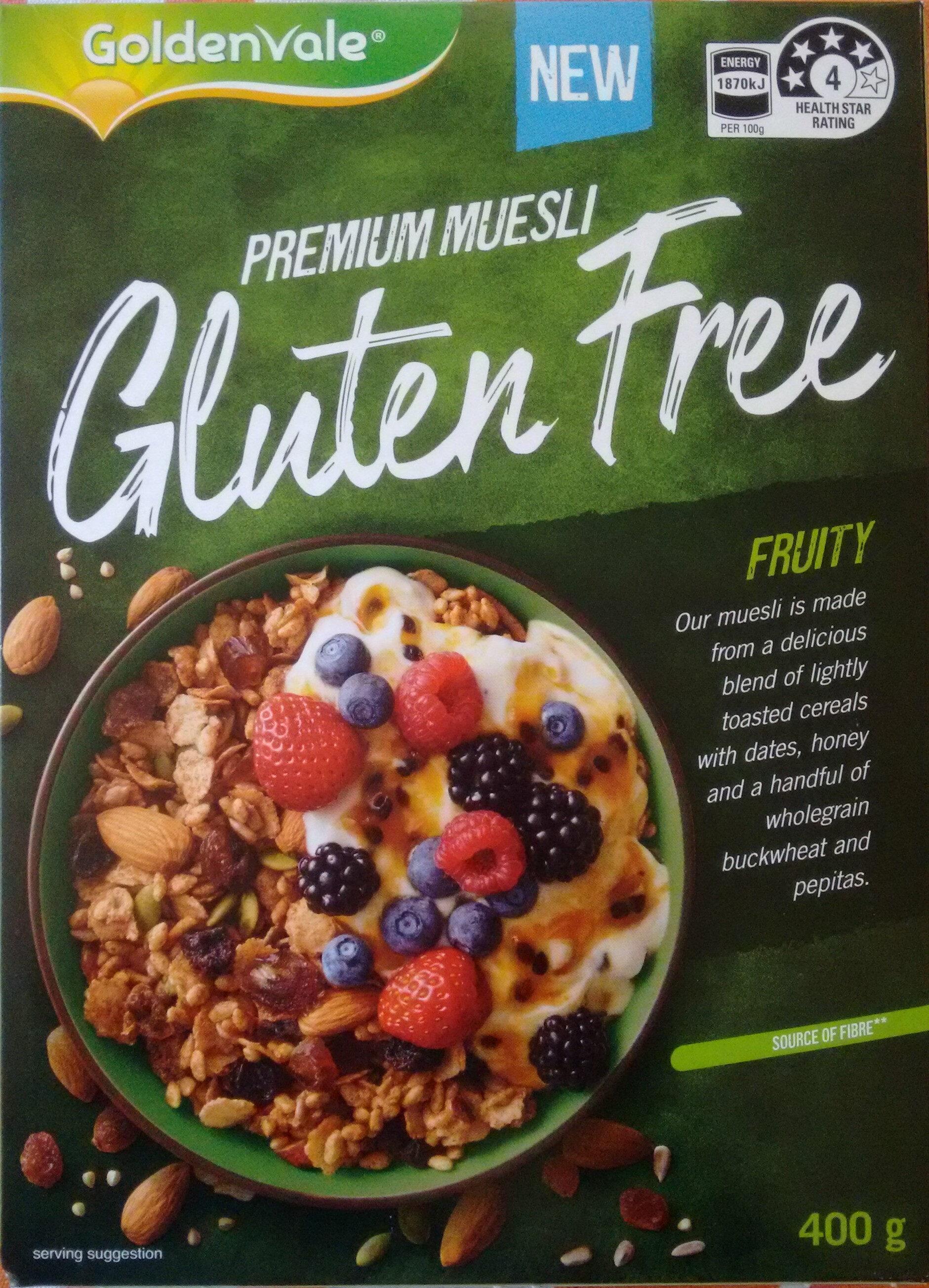 Fruity Gluten Free Muesli - Product - en