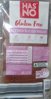 Gluten Free Seeded Sliced Bread - Product - en