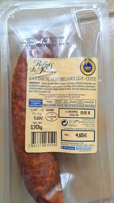 Saucisse de Montbéliard I.G.P. Cuite - Produit