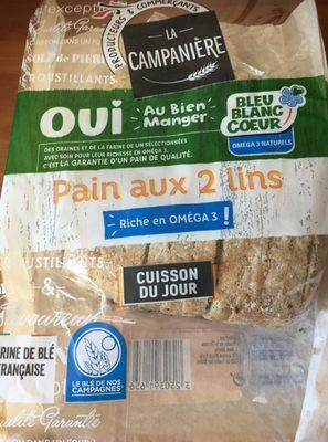 Pain aux 2 lins - Produit - fr