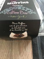 Muffins double chocolat noir-lait - Produit
