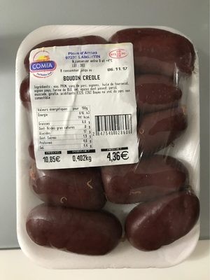 Boudin créole - Produit - fr