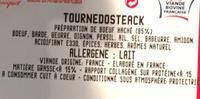 Tournedosteak - Ingrédients - fr