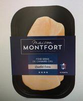 Foie gras de canard cru Qualité Extra origine France - Product