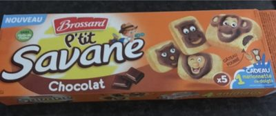 Ptit savane chocolat - Produit - fr