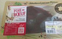 Foie de boeuf - Produit